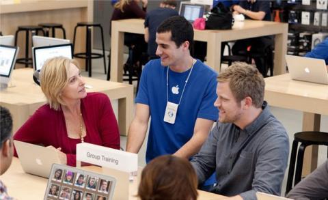 Tiendas Apple españolas aumentan ingresos en 2013
