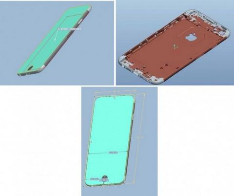 Renders iPhone 6 Foxconn