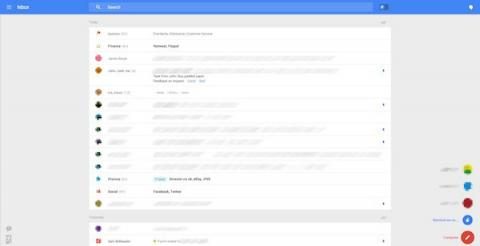 Posible nuevo look Gmail
