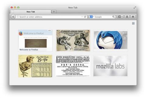 Firefox publicidad