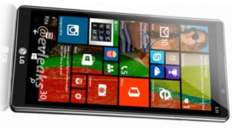 Se desvela el LG Uni8, el nuevo smartphone de LG con Windows Phone 8.1.