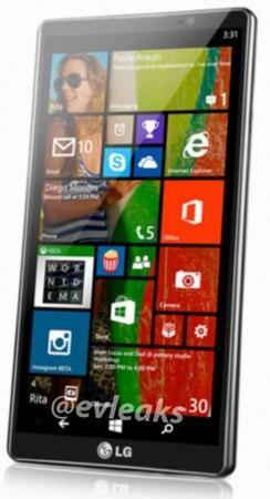 LG Uni8 con Windows Phone 8.1