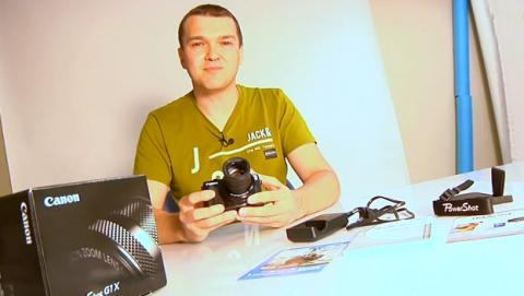 Nueva Canon PowerShot G1X Mark II, unboxing en vídeo