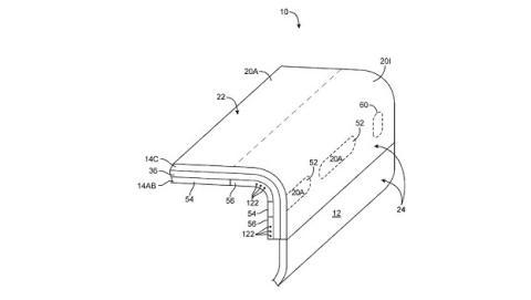 Patente Apple pantalla lateral interactiva