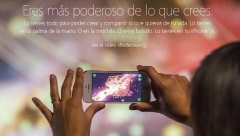Lema usado para el iPhone 5S