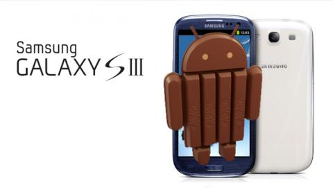 android kitkat galaxy s3