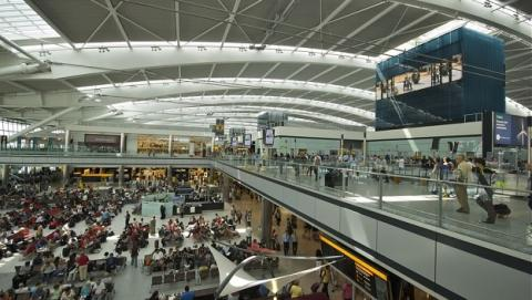 Terminal 5 aeropuerto de Heathrow, Londres