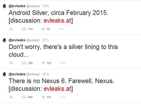 Adiós a Nexus de Google, hola Android Silver