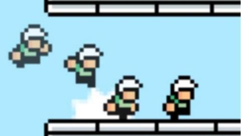 El creador de Flappy Bird nos muestra la primera imagen de su nuevo juego. Flappy Bird volverá en agosto con multijugador.