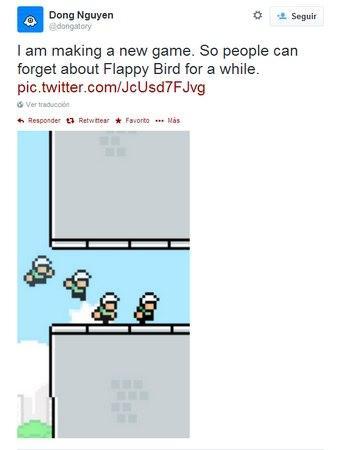 Nuevo juego creador Flappy Bird