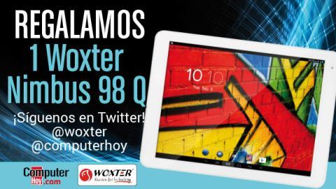 ¡Síguenos en Twitter! Sorteamos un tablet Woxter Nimbus 98 Q