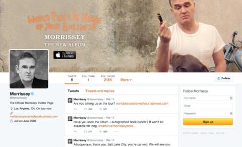 morrissey twitter