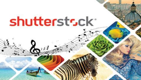 Shutterstock, ahora también para música