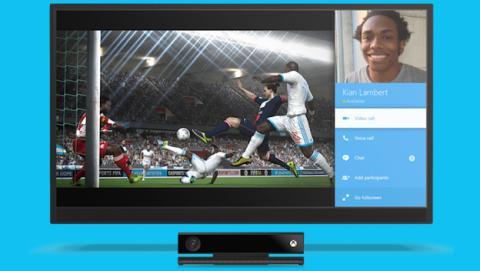 Llamadas Snap: Usa Skype mientras juegas a Xbox One