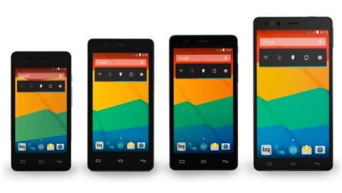 Aquaris E, el primer smartphone íntegramente español