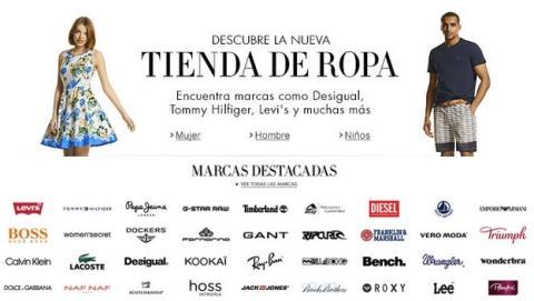 Amazon España abre tienda de ropa con 300.000 prendas, y gastos de envío y devolución gratis a partir de 19 €.