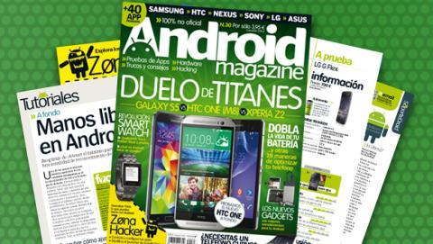 Android Magazine 30: a la venta en quiosco y edición digital