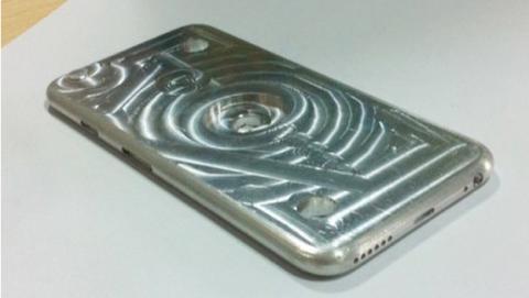 se filtran fotos del molde del iPhone 6