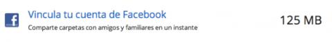 Vincula tu cuenta de Facebook