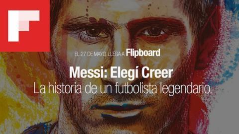 Messi publicará 6 capítulos de su autobiografía en Flipboard