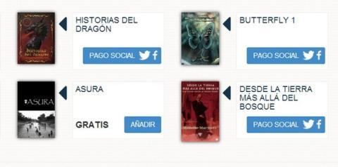 Lektu ebooks gratis con pago social