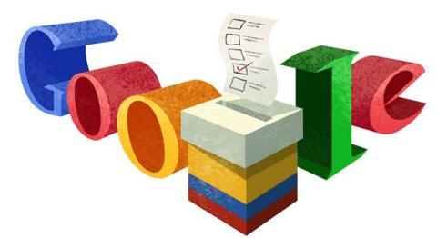 Doodle elecciones Colombia