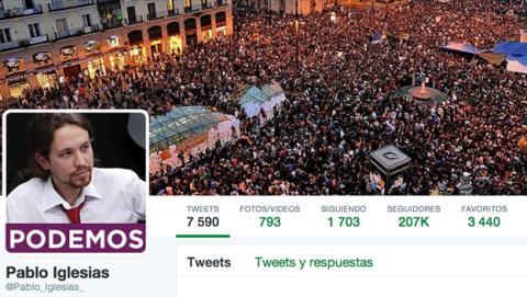 Twitter en las elecciones europeas: el triunfo de Podemos