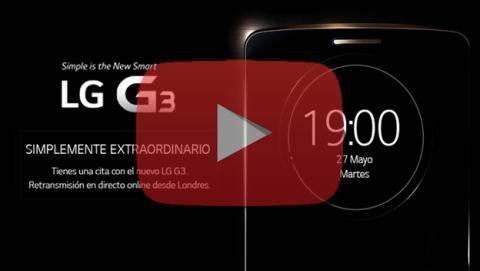 Sigue en directo la presentación del nuevo LG G3