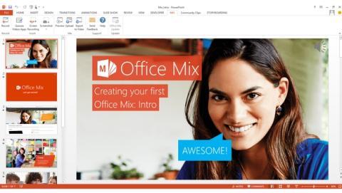 Office Mix, el nuevo software de Microsoft para crear cursos y lecciones online.