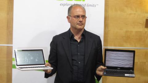 Acer presenta sus nuevos Chromebook, el C720 y C720P