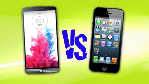 LG G3 vs iPhone 5S