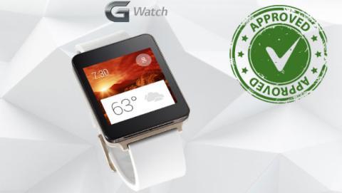 LG G Watch aprovado por la FCC