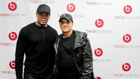 Los cofundadores de Beats, Jimmy Iovine y Dr. Dre