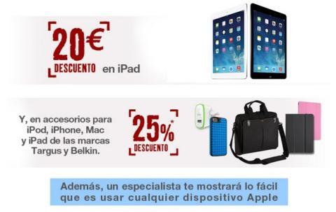 Promoción Apple en tiendas FNAC