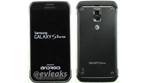 Se filtran nuevas imágenes del Samsung Galaxy S5 Activo, con carcasa más robusta y botones físicos.