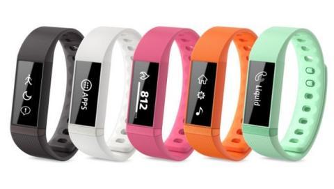 Acer Liquid Leap, la nueva pulsera vestible, un wereable que cuida tu salud, con medidor de pasos y de ciclos de sueño.