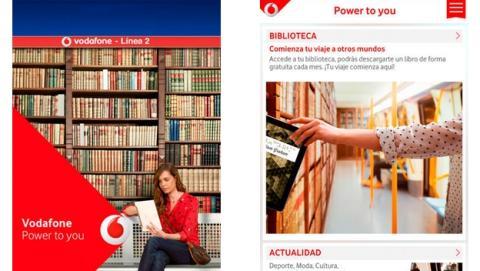Descarga ebooks gratis en la Línea 2 del Metro del Madrid, gracias a Vodafone.