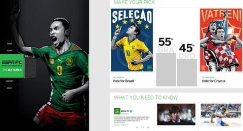 Web Mundial de Fútbol