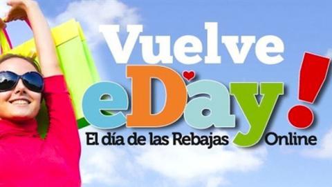 Aprovecha el eDay, el día de las rebajas online