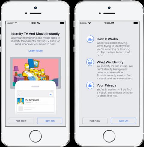 Facebook accede a tu micrófono