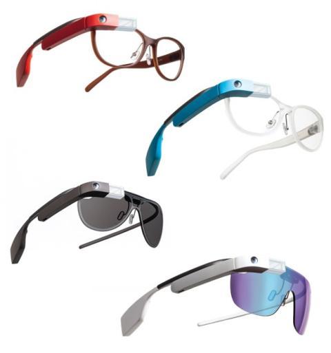 diseño DVF Google Glass