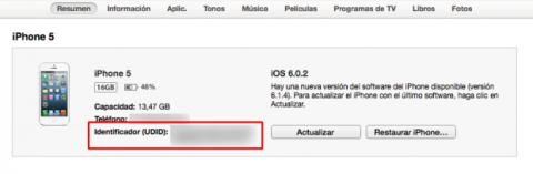 udid para iOS 8