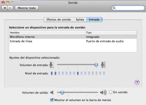 Sonido Mac