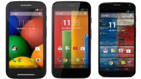 Android 4.4.3 KitKat llega al Moto X, Moto G y Moto E