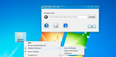 Sincroniza tus carpetas de Dropbox con Dropbox Folder Sync