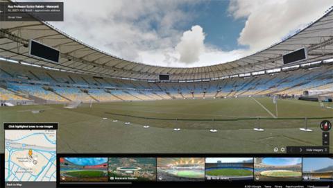 Google Maps te mete en los estadios del Mundial