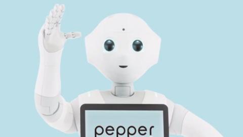 Pepper, robot que te hace feliz
