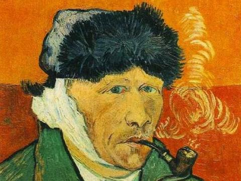 Imprimen en 3D oreja de Van Gogh con ADN del artista