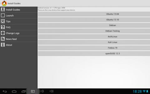 Descarga Ubuntu en tu Android