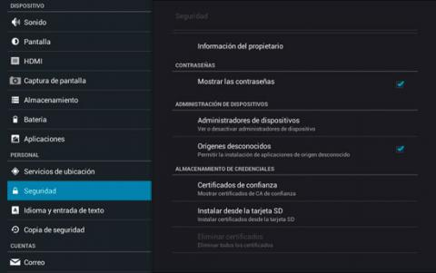 Permite la instalación de XBMC en Android